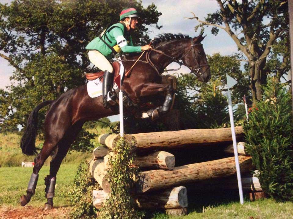 Marie Ryan riding Royal Star at Upton House