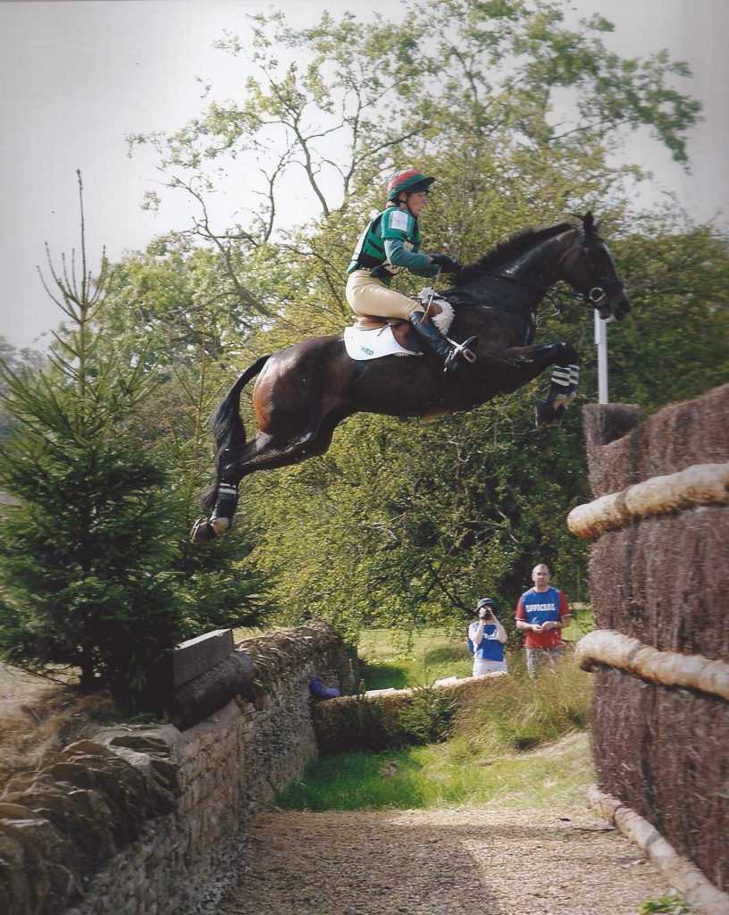 Marie Ryan with Penny Royal III at Burghley